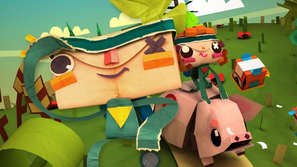 Review of Tearaway: Unfolded by Sony Computer Entertainment